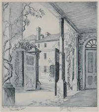 from the rectors piazza, charleston by elizabeth o'neill verner