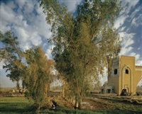 the north gate of baghdad (after corot) by simon norfolk