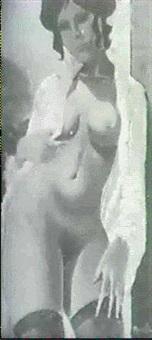 mujer en deshabille by celedonio perellon