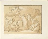 scène de sacrifice by vincenzo camuccini