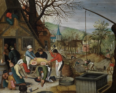 an allegory of autumn by pieter brueghel the younger