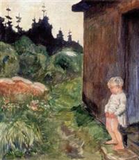 lillle dreng by bernhard d. folkestad