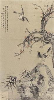 花鸟 by zhang henian