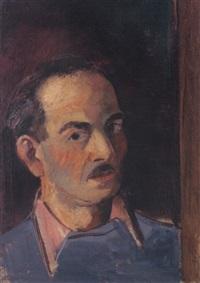 selbatbildnis by hans hubertus von merveldt