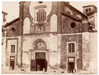 milan, ciesa di san marco by pompeo pozzi