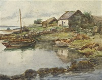a grey day - roundstone, co. galway by kate dobbin