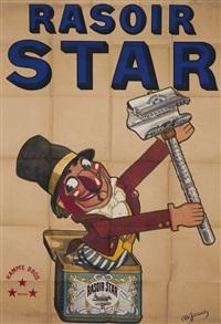 kampfe bros - rasoir star by albert jarach-chambry
