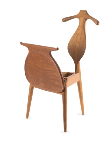 stuhl valet chair pp 250 von hans j wegner auf artnet. Black Bedroom Furniture Sets. Home Design Ideas
