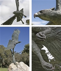 crowned eagle by robert leggat