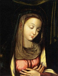 the madonna by juan correa de vivar