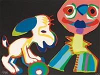 sur la piste de manhattan (from cirque, soleil du monde) by karel appel