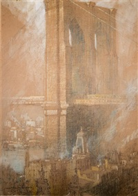 brooklyn bridge by george wharton edwards