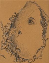 a girl by toyen (maria cerminova)