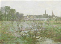 dalry in spring by george houston