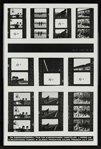 ein eisenbahnüberfall & lettre ouverte (2 works) by marcel broodthaers