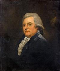 portrait de james boswell, biographe de d. jonhson by gainsborough dupont
