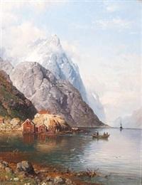 båttrafikk i vestlandsfjord by anders monsen askevold