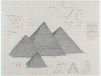 pyramid series #1 by agnes denes