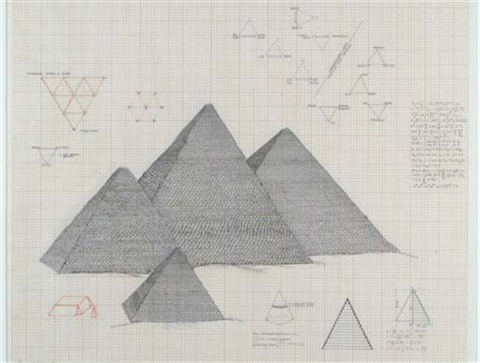 pyramid series 1 by agnes denes