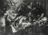the death of the virgin by giovanni battista bagutti