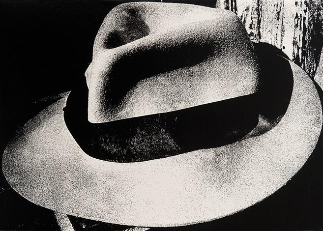 light and shadow 4: (hat) by daido moriyama