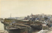 view of st. monans by samuel bough