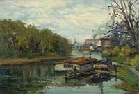 river scene by stelios miliadis