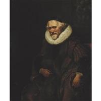 portrait of cornelis nuyts (1574-1661) by jürgen ovens