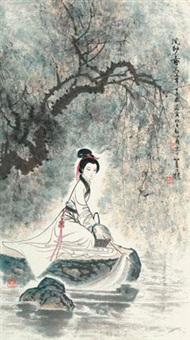 浣纱图 by gu bingxin