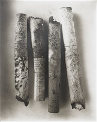 cigarettes neg. #86 by irving penn
