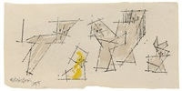 ohne titel (ghosties) by lyonel feininger