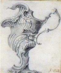 une paire d'aiguières baroques (various sizes; pair) by j.s. hildt