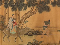 the move, qing dynasty by zhou chen