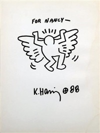 sans titre - untitled (for nancy) by keith haring