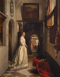 the visit by hubertus van hove