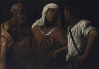 the denial of saint peter by hendrick terbrugghen