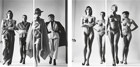 sie kommen paris naked and dressed vogue studios 4 works by helmut newton