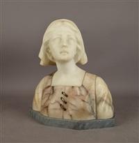 buste de femme by gustave van vaerenbergh