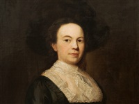 lady's portrait by william hogarth