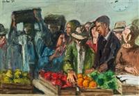 rochusmarkt by georg eisler