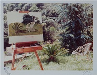 la chaise by david hockney
