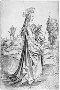 die heilige ursula by matthaus zasinger