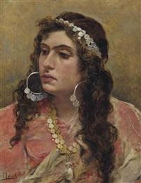a gypsy lady by joaquín agrasot y juan