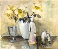 still life with flowers by elise claudine arntzenius