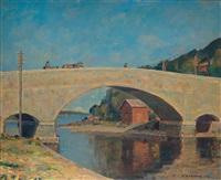 the mierola bridge, parola, finland by vaino kamppuri