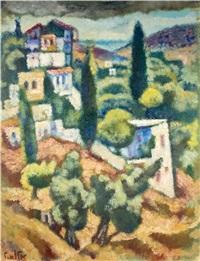 galilee landscape by arieh allweil
