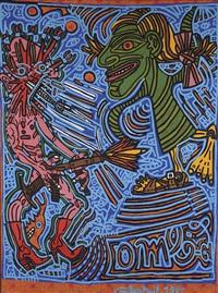 jacqueline cora by robert combas