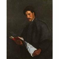 portrait of a scholar by philip leslie hale