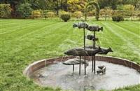fish fountain by bruce nauman