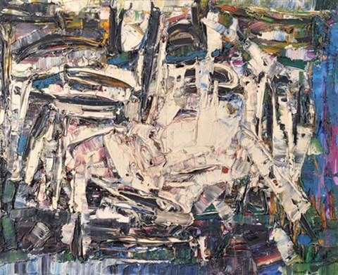 carrefour by jean paul riopelle